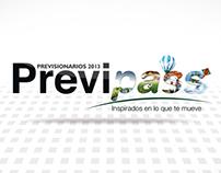 APP para IPAD PREVIPASS 2013 LANZAMIENTO