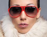 Red Carrera Lips