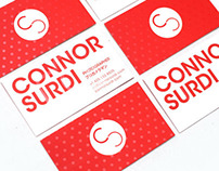 Connor Surdi Business Cards