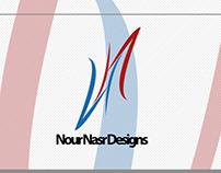Nour Nasr Designs Official Logo Branding 2013