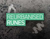 REURBANISED RUNES // Typography