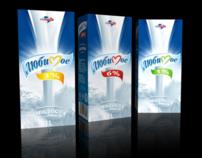 Milk Lubimoe. Packaging