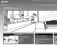 Concepting / Hotel Website