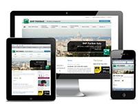 BNP Paribas responsive design