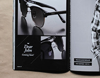 Vulk Eyewear Catalogue #5 - diseño gráfico y Layout -