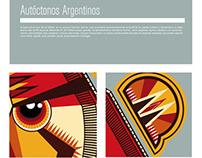 Ilutración • Autóctonos argentinos