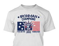 2012 Ironman Tournament Fundraiser T-Shirts