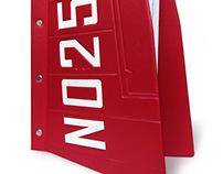 """Menu Folder for """"ANT-25"""" Restaurant"""