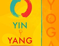 Yin Yang Yoga Poster
