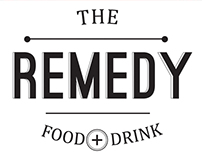 Remedy Food + Drink branding