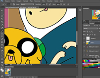Illustration Adventure Time