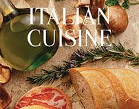 Italian Cuisine Book Design