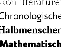 Katachi Typeface
