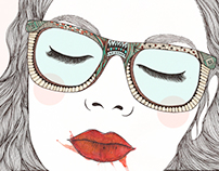 Illustrations - watercolor & ink
