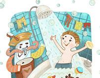 """Kornei Chukovsky  """"Moidodyr"""" - Children's Book"""