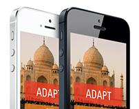 ADAPT | A Traveling App