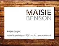 I AM MAISIE – Business Card