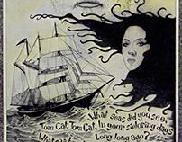 Dylan Thomas 'Under Milkwood' Illustration