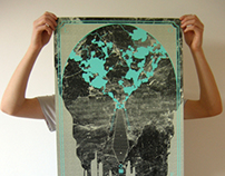 The Poisoned Loaf - silkscreen poster
