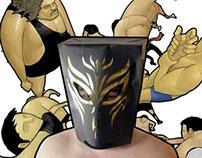 Wrestling Mask Bag