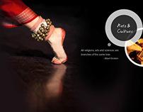 Website design- Panchshil foundation