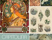 Capitolina: Coleção Art Nouveau