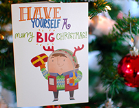 Big Issue West Midlands - Christmas Cards