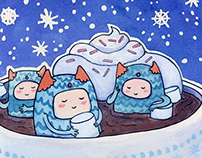 Mallow Monsters Send You Warm Holiday Wishes