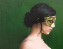 Paintings - Masquerade