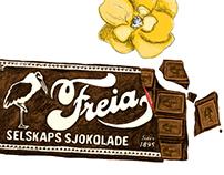 Freia - illustration for TV-commercial