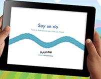 Soy un río. iPad App