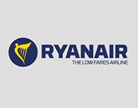 RyanAir Logo Relaunch