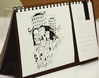 Natteravnene 2014 Calendar