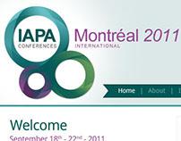 IAPA Conference Website