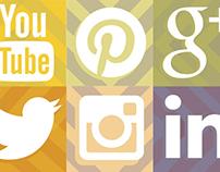 Autumn Social Media Icon Set