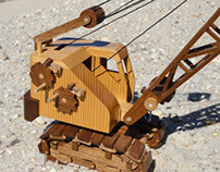 Wooden Toy Crane Project