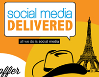Infographic: All About Social Media Delivered