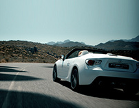 "Toyota FT-86 open ""Shadow Dodging"""