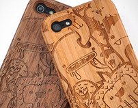 Mostros! | Cases for iPhone 5
