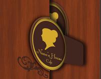 Nanas House Café - Corporate Identity System