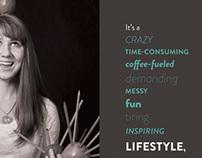 2013 Senior Art Show Promotional Material