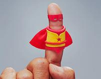 Hero Fingers: Every Volunteer is a Hero