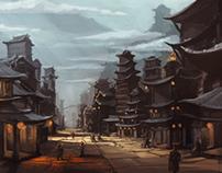 Retro Future China Concept