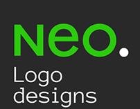 NEO's 10 years of logo design