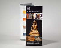 UMFA Timeline of the Arts brochure