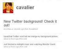 Twitter Background - Y