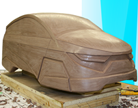 Automotive Clay Modelling