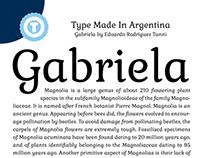 Gabriela - Free Google Web Font