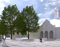 Concept design- revaluation of old Market in Zakliczyn