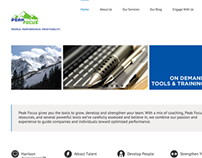 Peak Focus : Brand Strategy & Marketing Communications
